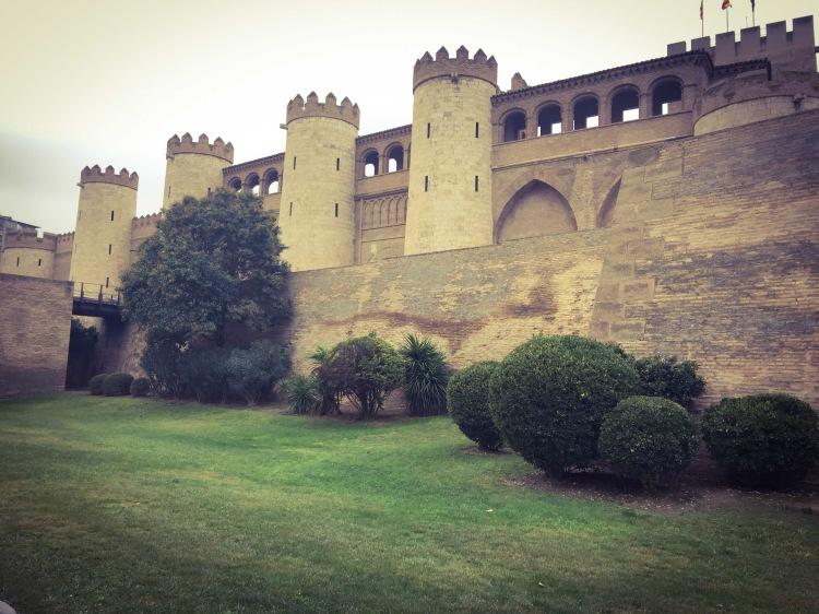 Palacio Aljaferia, Zaragoza, Saragozza in Aragona, Spagna.