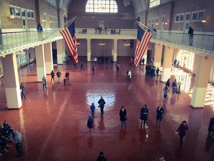 Immigration Museum Ellis Island, New York.