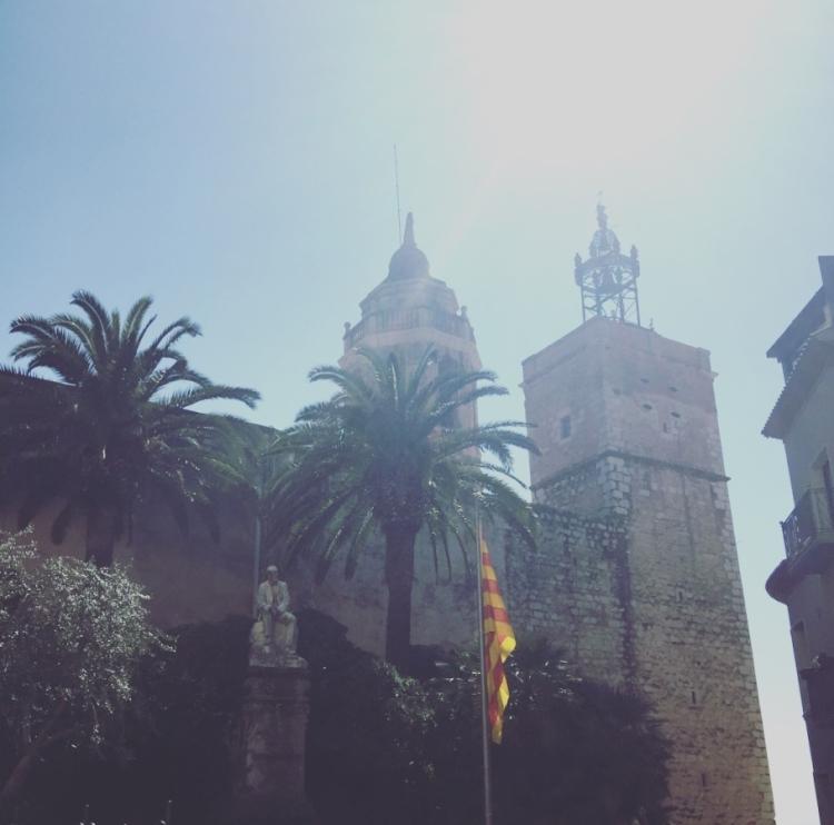 Parroquia de Sant Bartomeu, Sitges, Spain.