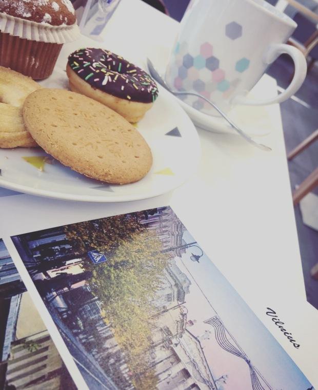 Vilnius e colazione.