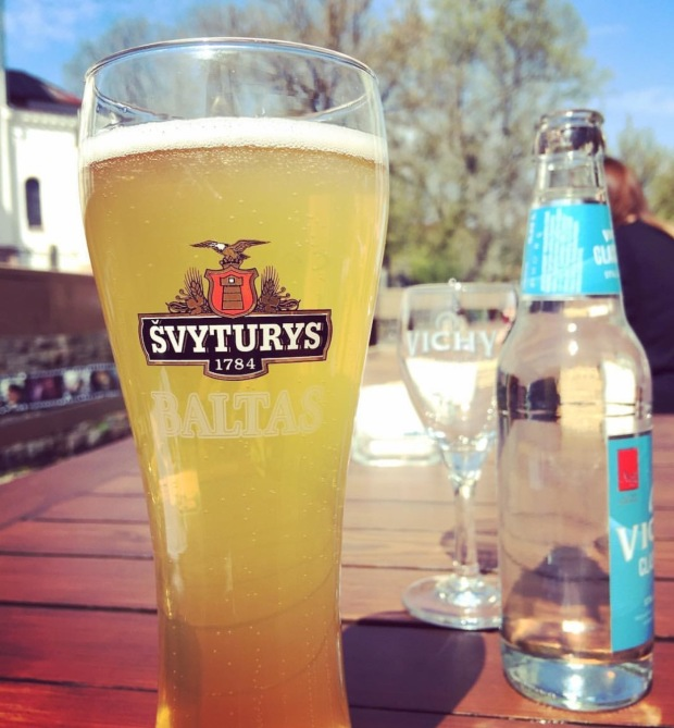 Svyturys birra lituana, lithuanian beer.