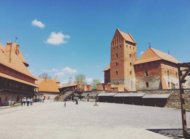 Castello di Trakai Lituania, Lithuania.