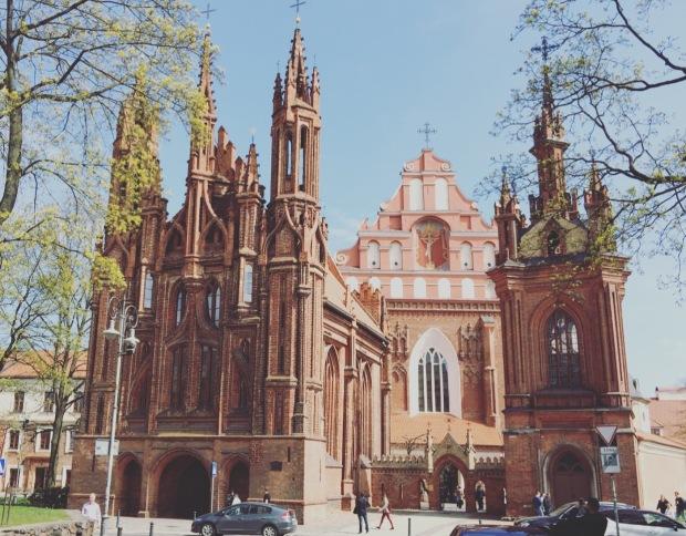 Chiesa di Sant'anna Vilnius, Lituania, Lithuania