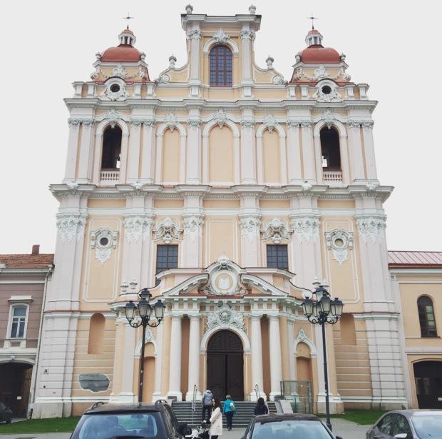Chiesa di S. Casimiro Vilnius, Lituania, Lithuania.