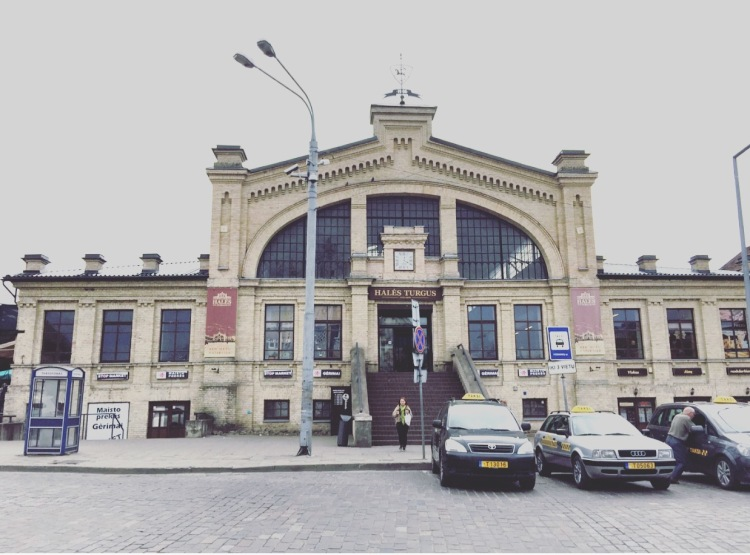 Hales Turgus market Vilnius, mercato Lituania, Lithuania, Lietuva