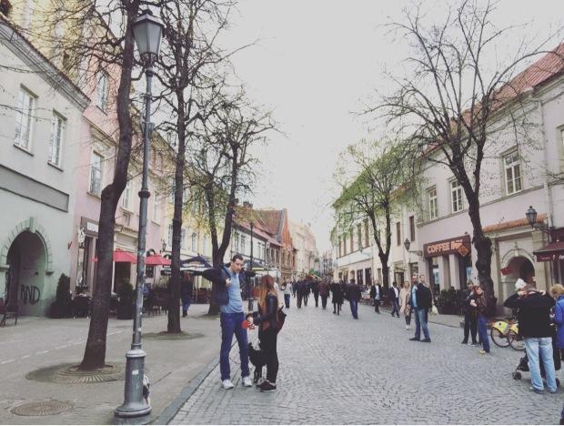 Pilies street Vilnius, Lituania, Lithuania, Lietuva