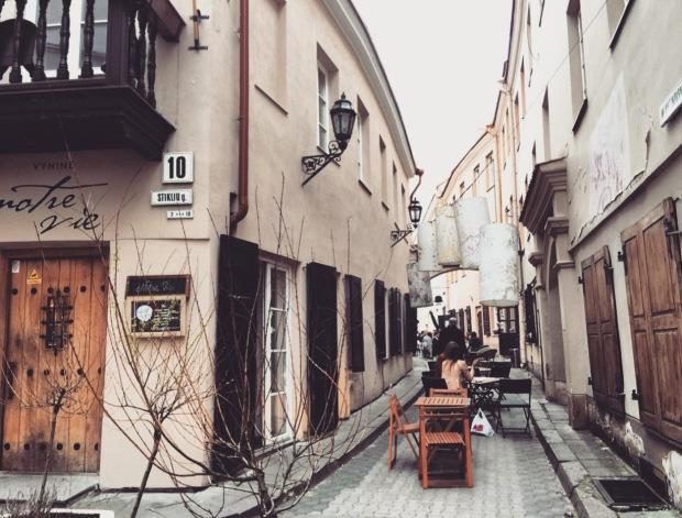 Vilnius street, Lituania, Lithuania, Lietuva