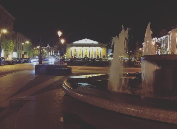 Piazza del comune Vilnius, Lituania, Lithuania.