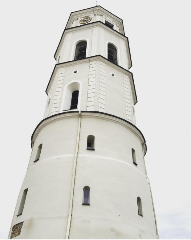 Torre campanaria, Vilnius, Lituania, Lithuania.