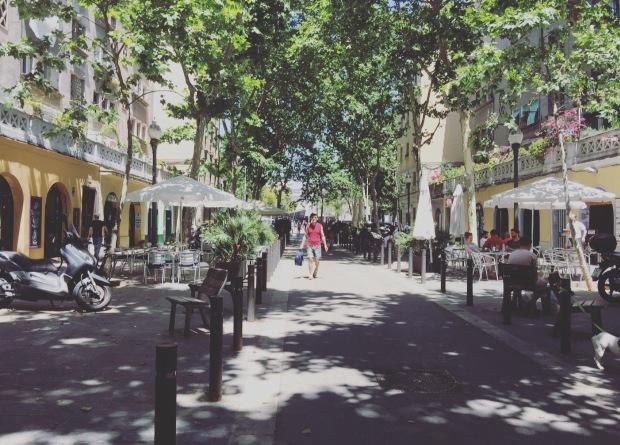 carrer almirall churruca Barcelona, Barceloneta, Quartiere Barceloneta, barcelloona, Barcelona, Spagna, Spain, Catalunya
