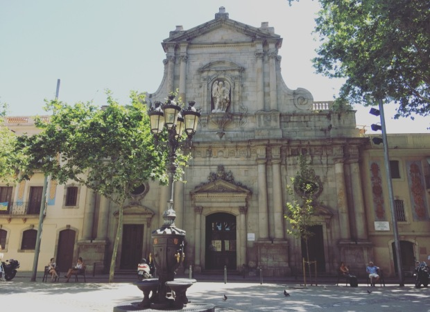 Esglesia de San Miquel del Port, Barcellona, Barcelona, Spagna, Spain, Catalunya