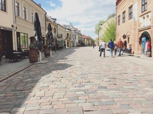 Centro storico, Kaunas, Lituania, Lietuva