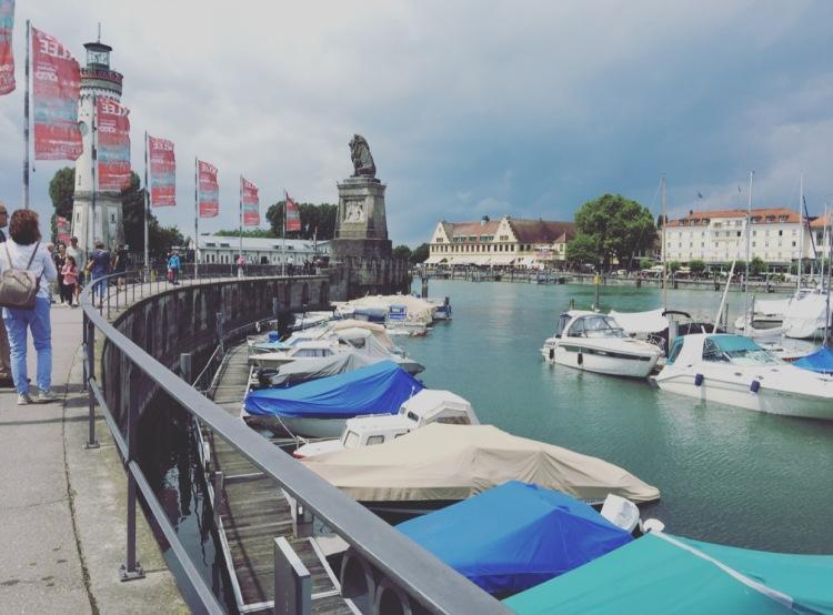 Lindau porto, Baviera, Bavaria, Germania, Germany, Deutschland