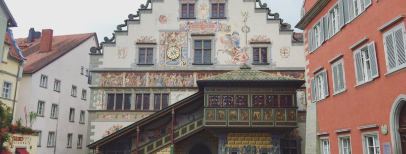 Altes Rathaus Lindau Baviera, Germania, Germany, Deutschland
