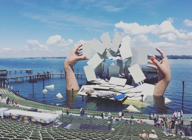 Bregenz, Festspiele, Austria, Vorarlberg, Osterreich, Bodensee, lago di Costanza