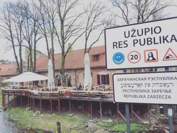 Uzupis, Vilnius, Lituania, Lietuva, Lithuania