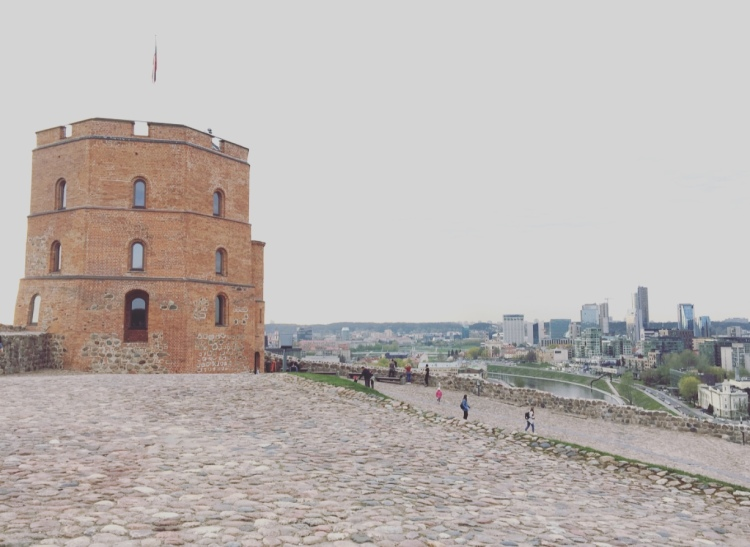 Gedimina's Tower, Vilnius, Lituania, Lietuva, Gedimina
