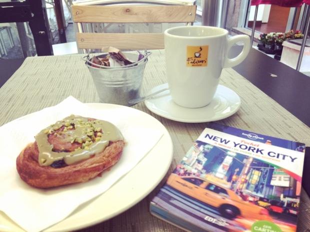Colazione e guida di New York