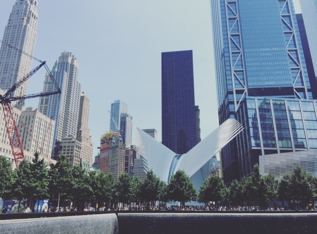 Memorial 9/11, Manhattan, New York.