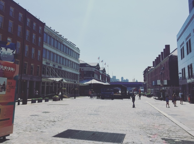 South Street Seaport District, Manhattan, New York.