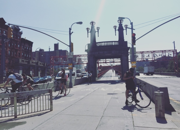 Ponte di Williamsburg, Brooklyn, New York.