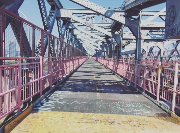 Ponte di Williamsburg, Brooklyn, New York.