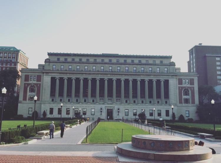 Columbia University, Manhattan, New York.