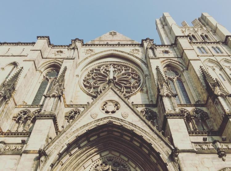 Cattedrale di Saint John the Divine, Manhattan, New York.