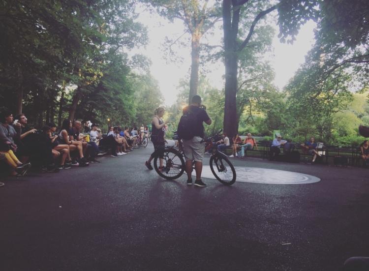 Strawberry Fields, Central Park, Manhattan, New York.