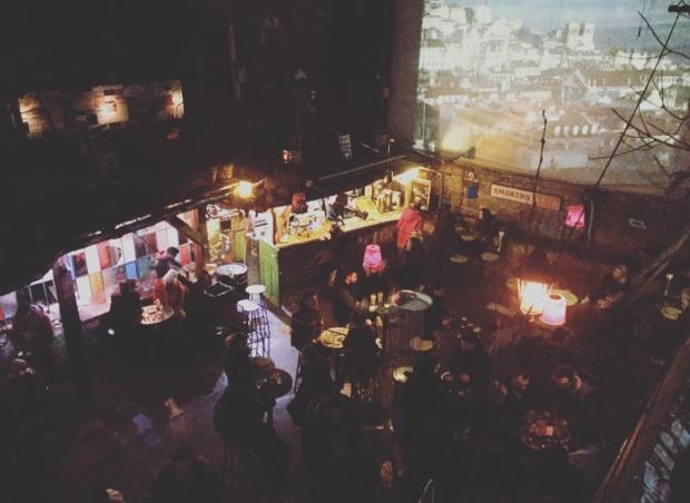 Ungheria, Budapest, ruin bar, Szimpla Kert,