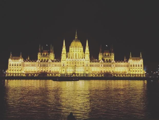 Ungheria, Budapest, Palazzo del Parlamento.