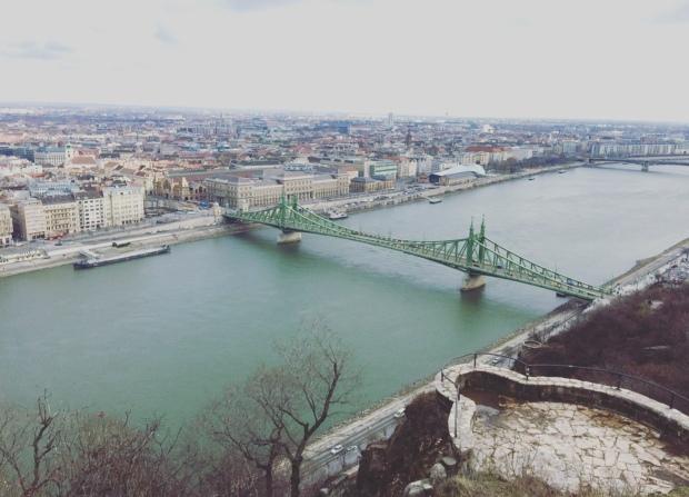 Ponte della Libertà, Budapest, Ungheria.