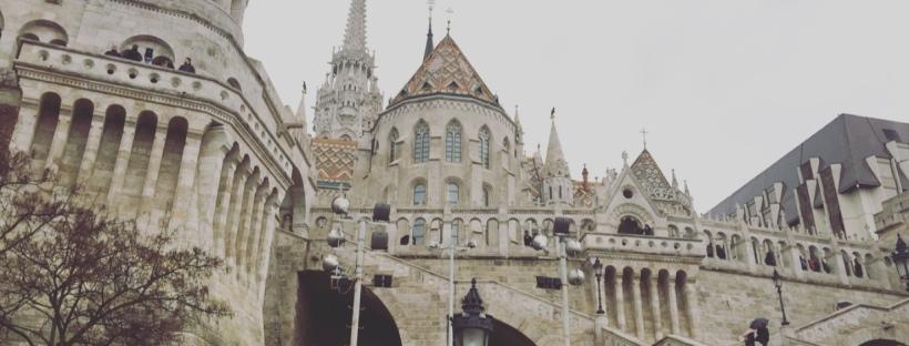 Bastione dei Pescatori, Budapest, Ungheria.