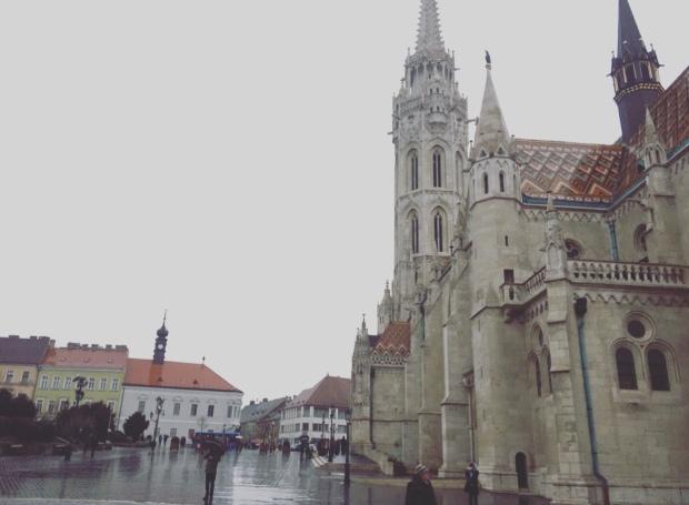Chiesa di Mattia, quartiere castello, Budapest, Ungheria.