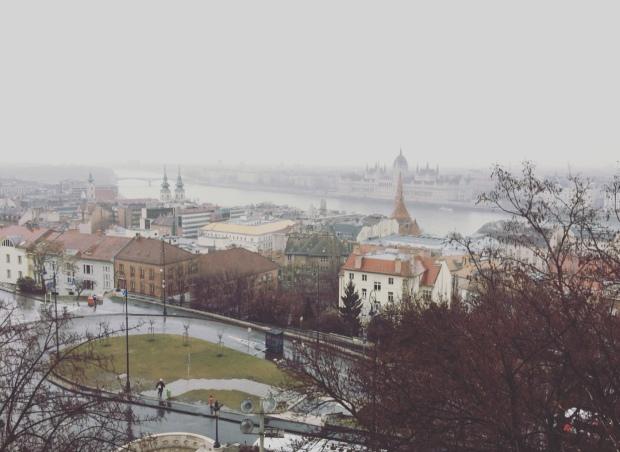 Danubio, Budapest, Ungheria.