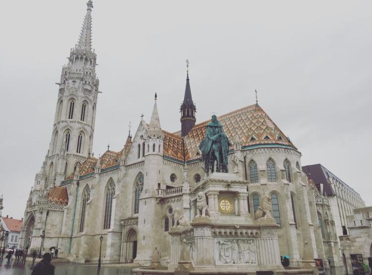 Chiesa di Mattia, quartiere del castello, Budapest, Ungheria.