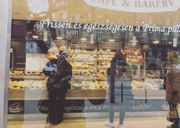 Caffetteria, Budapest, Ungheria.