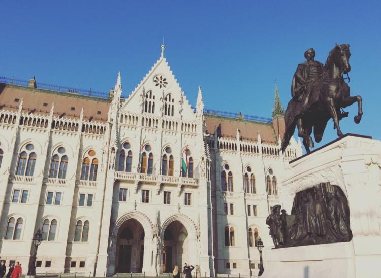 Palazzo del Parlamento, Budapest, Ungheria.