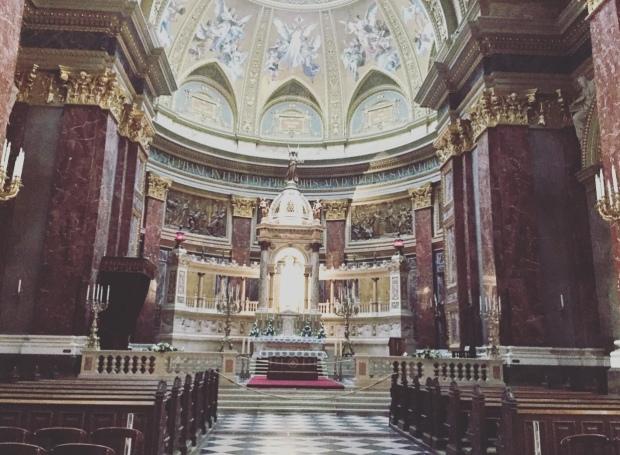 Basilica di Santo Stefano, Budapest, Ungheria.