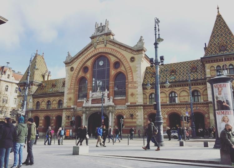 Mercato coperto, Budapest, Ungheria.