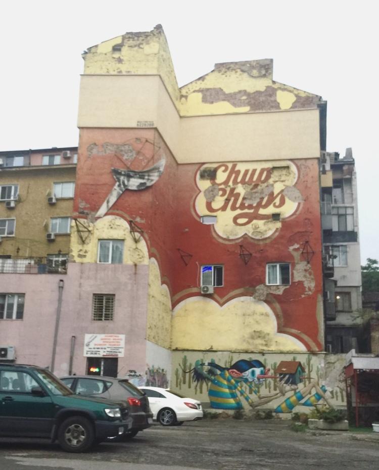 Murales, Sofia, Bulgaria.