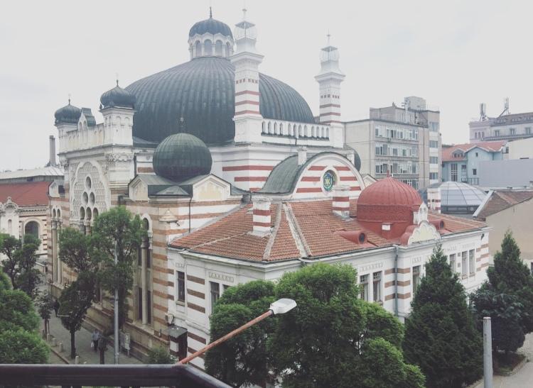 Sinagoga, Sofia, Bulgaria.