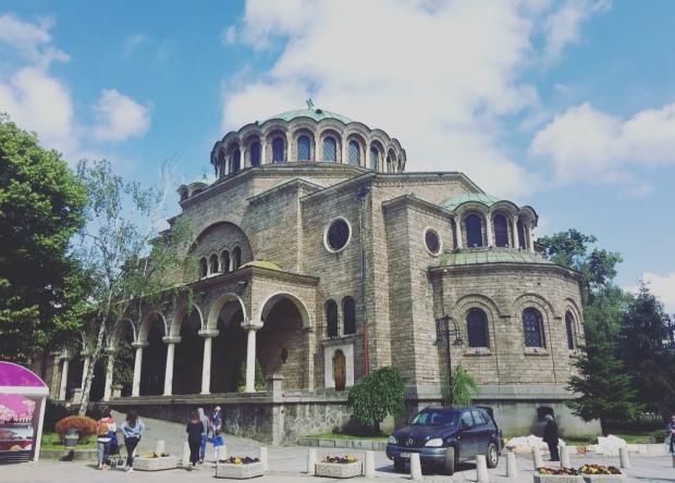 Cattedrale di Santa Domenica, Sofia, Bulgaria.