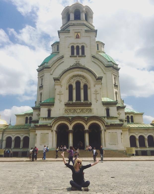 Cattedrale Alexander Nevsky, Sofia, Bulgaria.