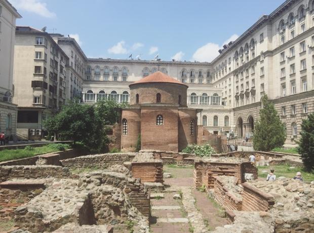 Rotonda di San Giorgio (Sveti Georgi), Sofia, Bulgaria.