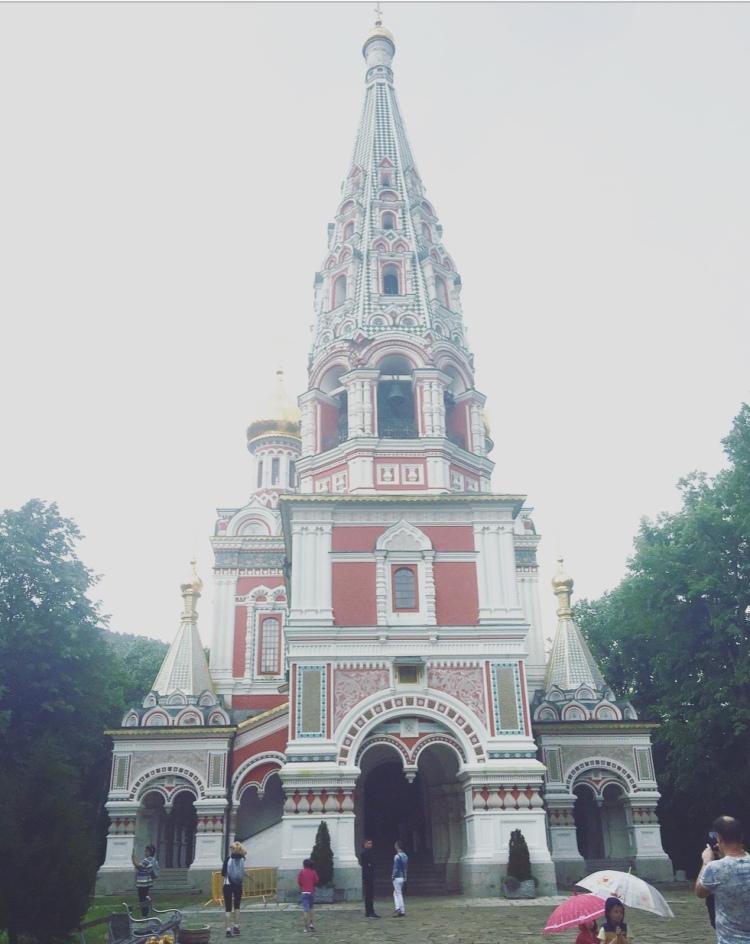 Chiesa memoriale della nascita di Cristo, Shipka, Bulgaria.