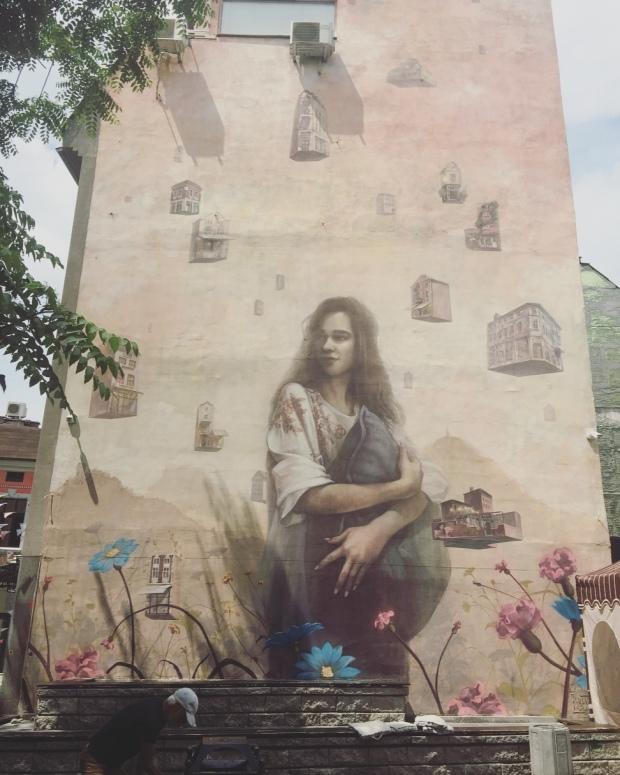 Murales, Plovdiv, Bulgaria.