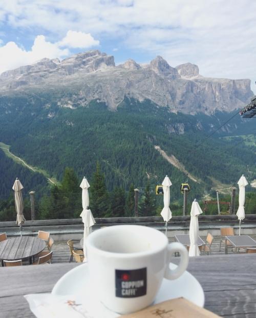 Rifugio Col Alt, Corvara, Val Badia, Alto Adige, Dolomiti.