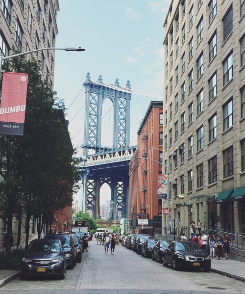 DUMBO, Brooklyn, New York, Stati Uniti.