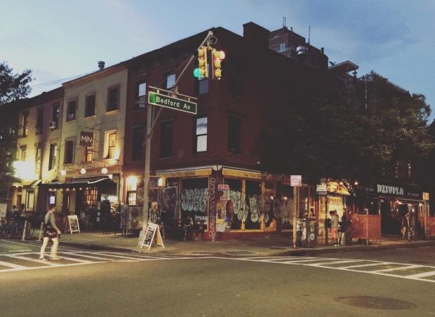 Bedford Avenue, Williamsburg, Brooklyn, New York.